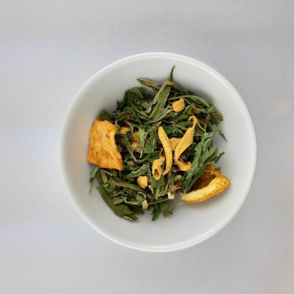 Schweizer Hanf Tee Orangenblüte