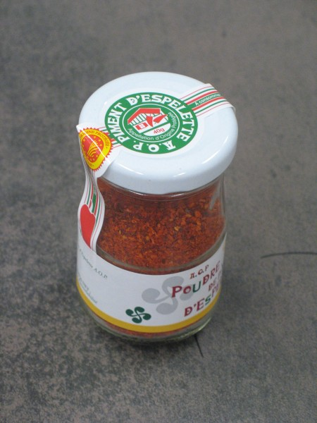 Piment d`Espelette