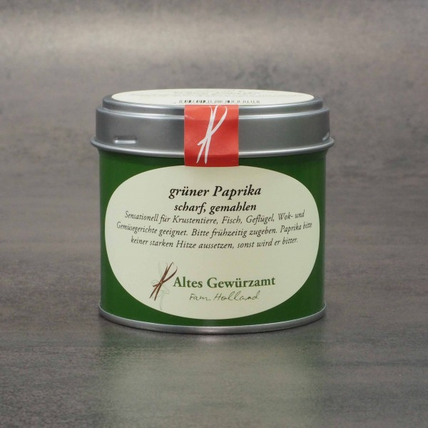grüner Paprika scharf